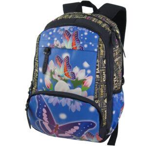 1432 бабочка - рюкзак
